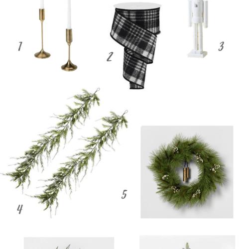 My Christmas Home Decor Essentials