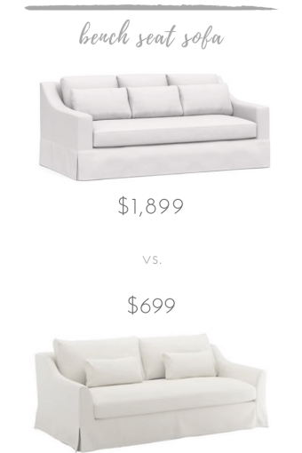 Adorable vs. Affordable: Bench Seat Sofa
