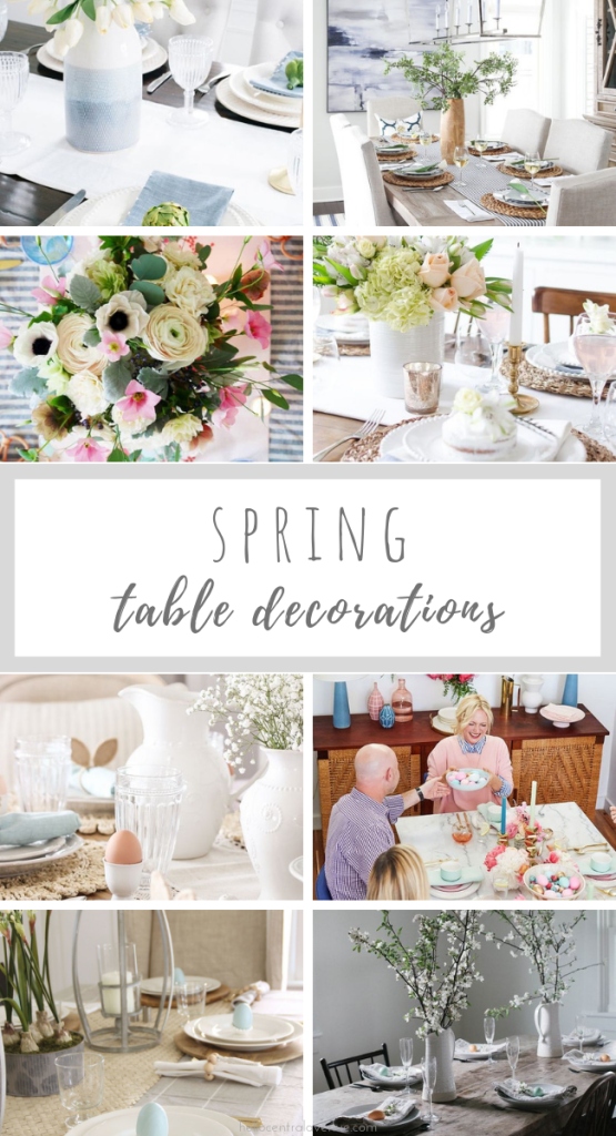 Spring Table Decorations