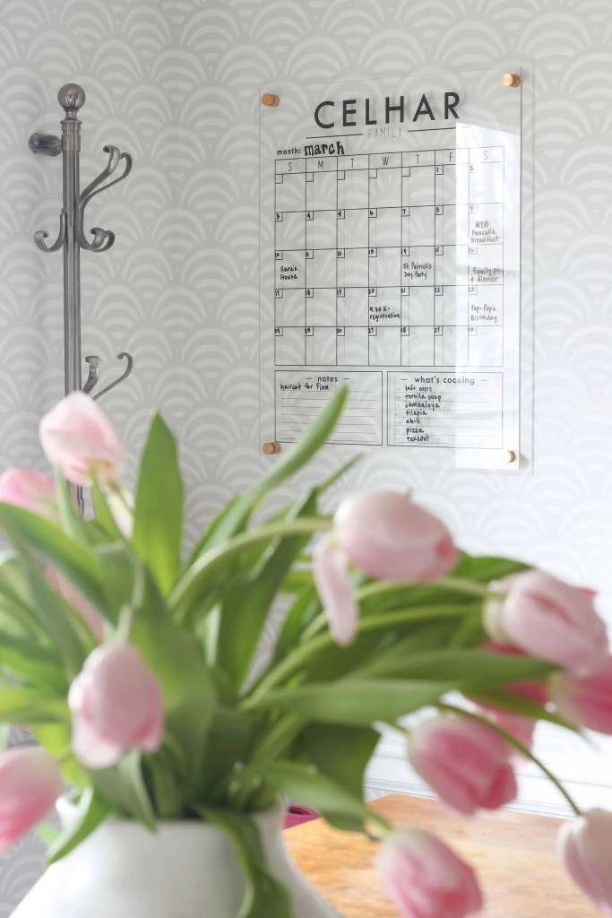 Family Command Center: Acrylic Wall Calendar