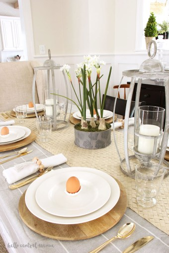 6 Simple Steps to Creating a Spring Tablescape