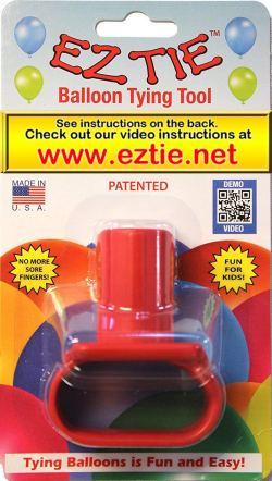 EZ tie balloon tying tool