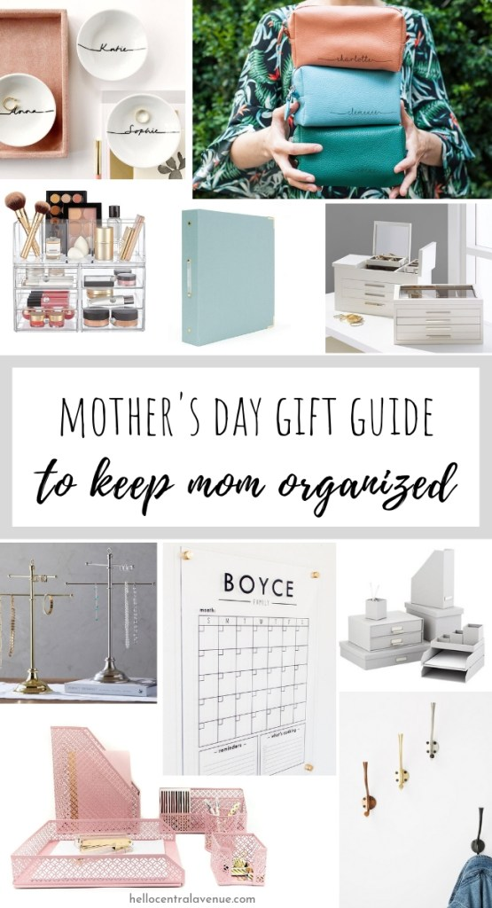Mother's Day Gift Guide to Become an Organized Mom!