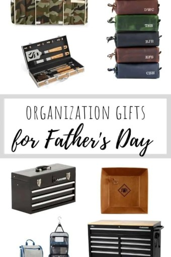 Organization Gifts for Father's Day