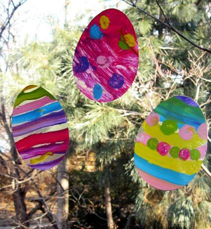 Contact Paper Easter Window Clings