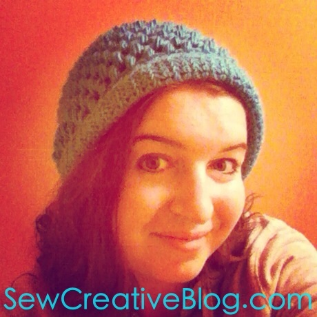 Crotched Slouch Puff Stitch Hat