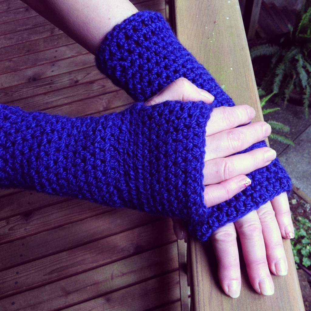 Sew Creative Fingerless Gloves