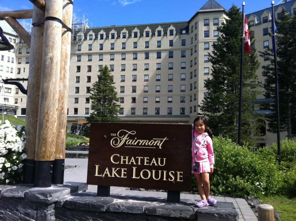 Sew Creative Family Roadtrip Vancouver to Calgary Lake Louise Chateau