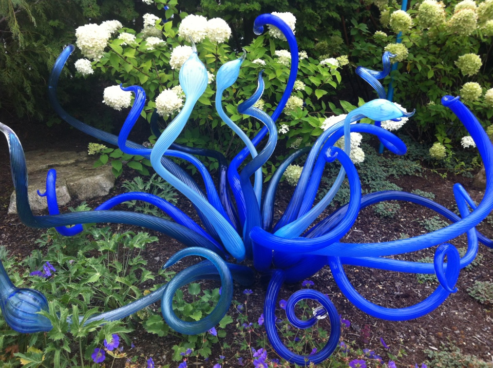 Chihuly Garden and Glass Outside 2
