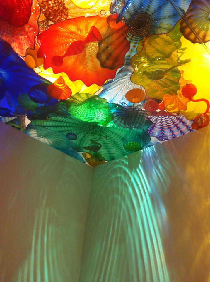 Glass Ceiling at Chihuly Garden and Glass