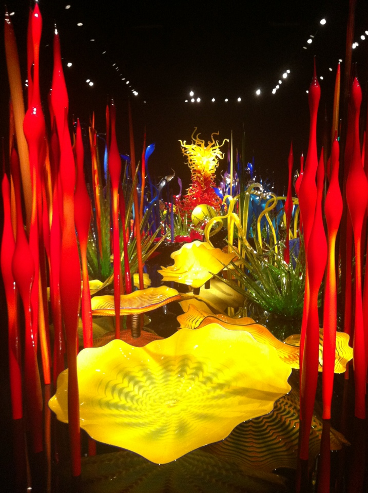 Glass Garden in Chihuly Garden and Glass