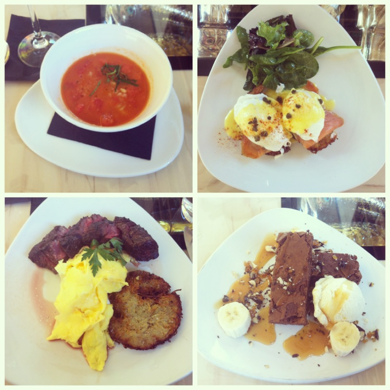 Photo of 3 Course Brunch food from Dale Chihulys Restaurant at The Glass House