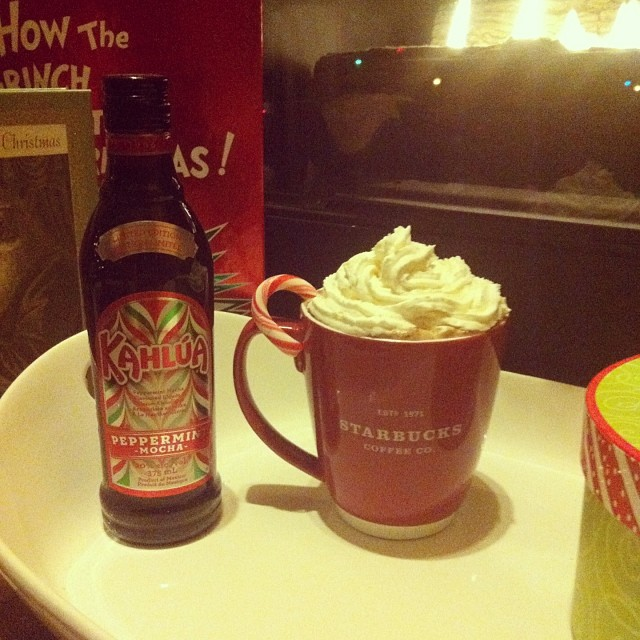 Holiday Cocktail Recipes Using Peppermint Mocha Kahlua and Salted Karamel Stoli 1