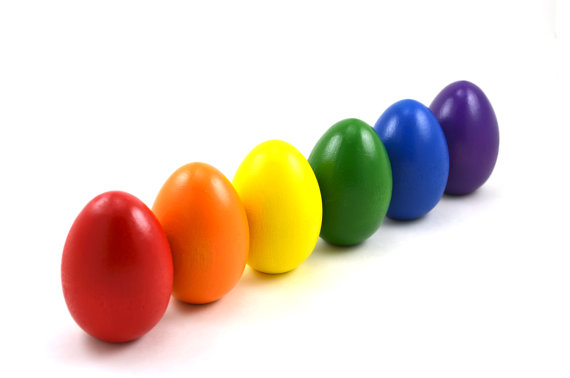 Rainbow Easter Eggs from Bright Life Toys