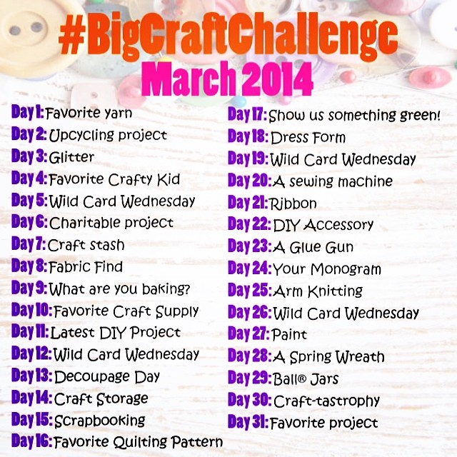 Jo-Ann's Big Craft Challenge 2014