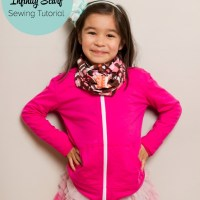 Sewing Project- 15 Minute Kid's Infinity Scarf Sewing Tutorial