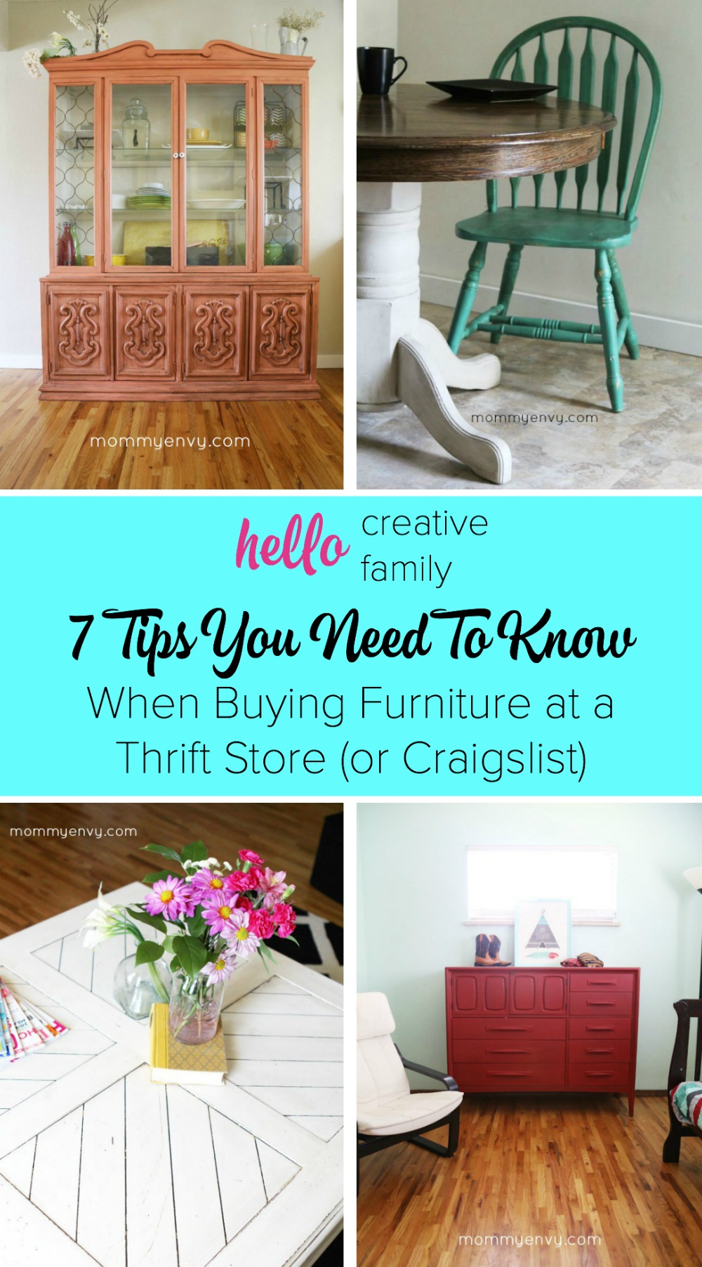 Buying Furniture At A Thrift Store Or Craigslist 7 Tips You Need To Know Hello Creative Family