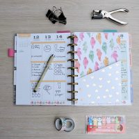 How To Make DIY Planner Folder Pockets (Perfect For Happy Planners)