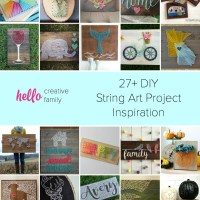 27+ DIY String Art Project Inspiration