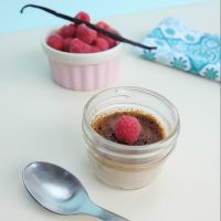 Raspberry Crème Brûlée Recipe Made With Coconut Sugar