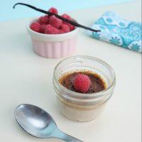 Raspberry Crème Brûlée Recipe Made With Coconut Sugar
