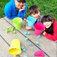 DIY Tenzi Outdoor Yard Dice Game Tutorial