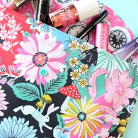 20 Minute Makeup Bag Sewing Tutorial- Perfect For Teens, Tweens & Beginners