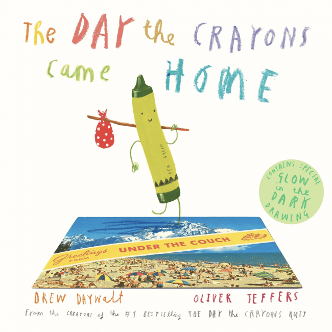 10 Book Recommendations for Creative Kids: The Day The Crayons Came Home