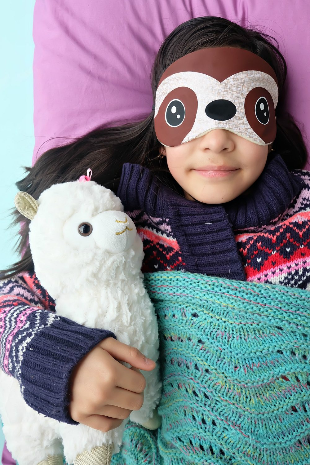 This DIY Sloth Sleep Mask is so stinking cute! Bonus you can make it in just 15 minutes using your Cricut Maker or Cricut Explore. Such a fun and easy Cricut Project! #Cricut #CricutProject #HandmadeGift #Sloth