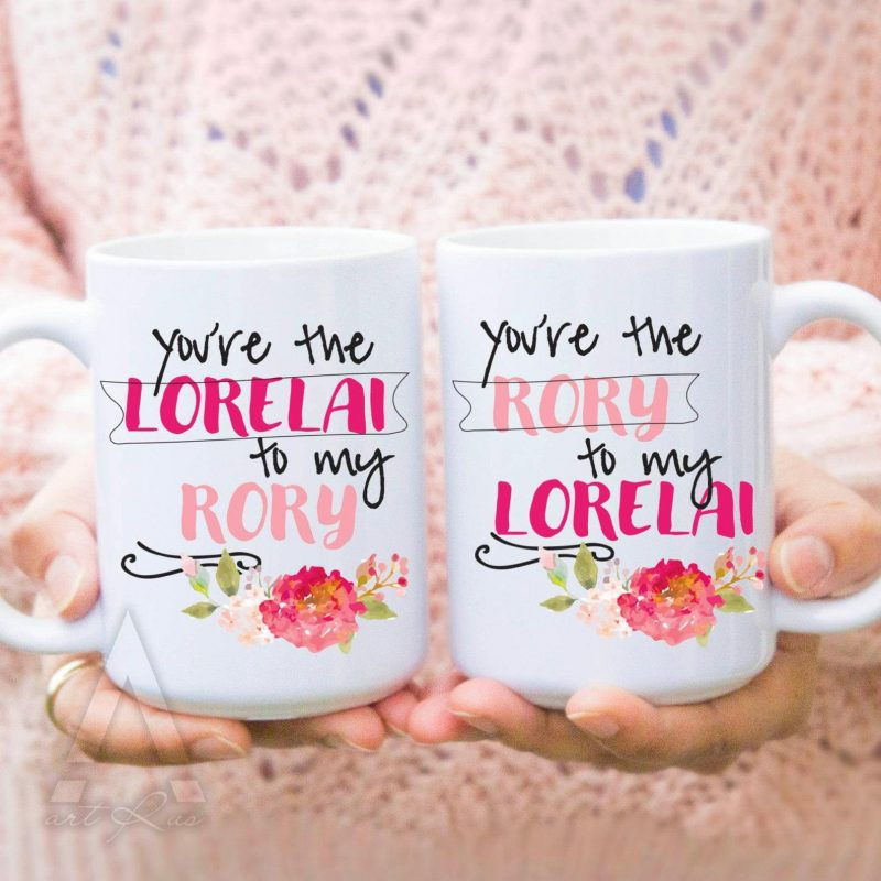 Shop Handmade Mother's Day Gift Ideas For Mom: Gilmore Girls Coffee Mugs from Instant Good Vibes