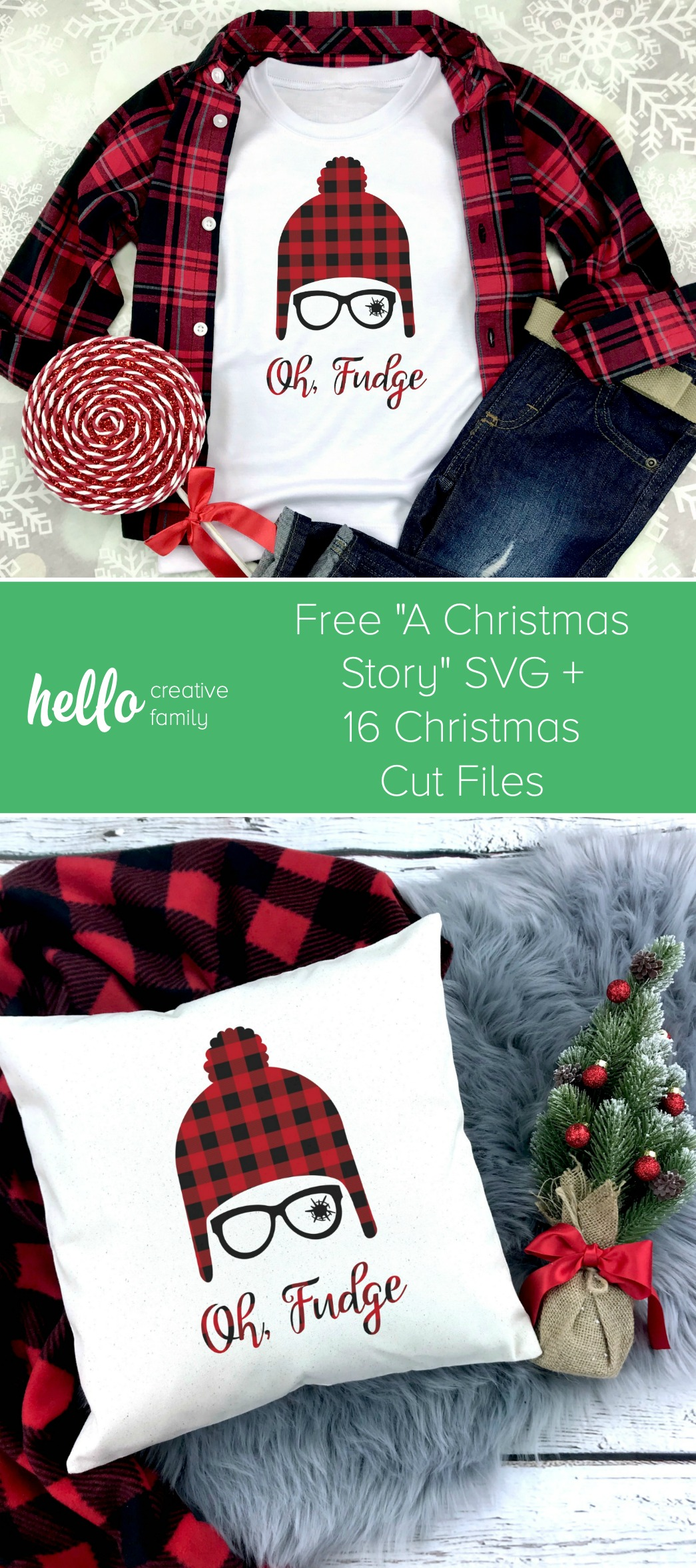 Once payment is confirmed, you will receive a zip file with: Free Christmas Story Svg 16 Christmas Cut Files