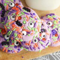 Easy Monster Mash Halloween Sugar Cookie Recipe