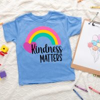 Kindness Matters SVG + 16 Rainbow Cut Files
