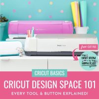 Cricut Design Space 101- Everything You Need To Know To Be A Pro + Free SVG