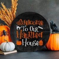 Halloween Welcome Sign SVG + 12 Free Halloween Cut Files