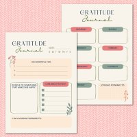 Free Gratitude Journal Printable + 13 Thanksgiving Printables