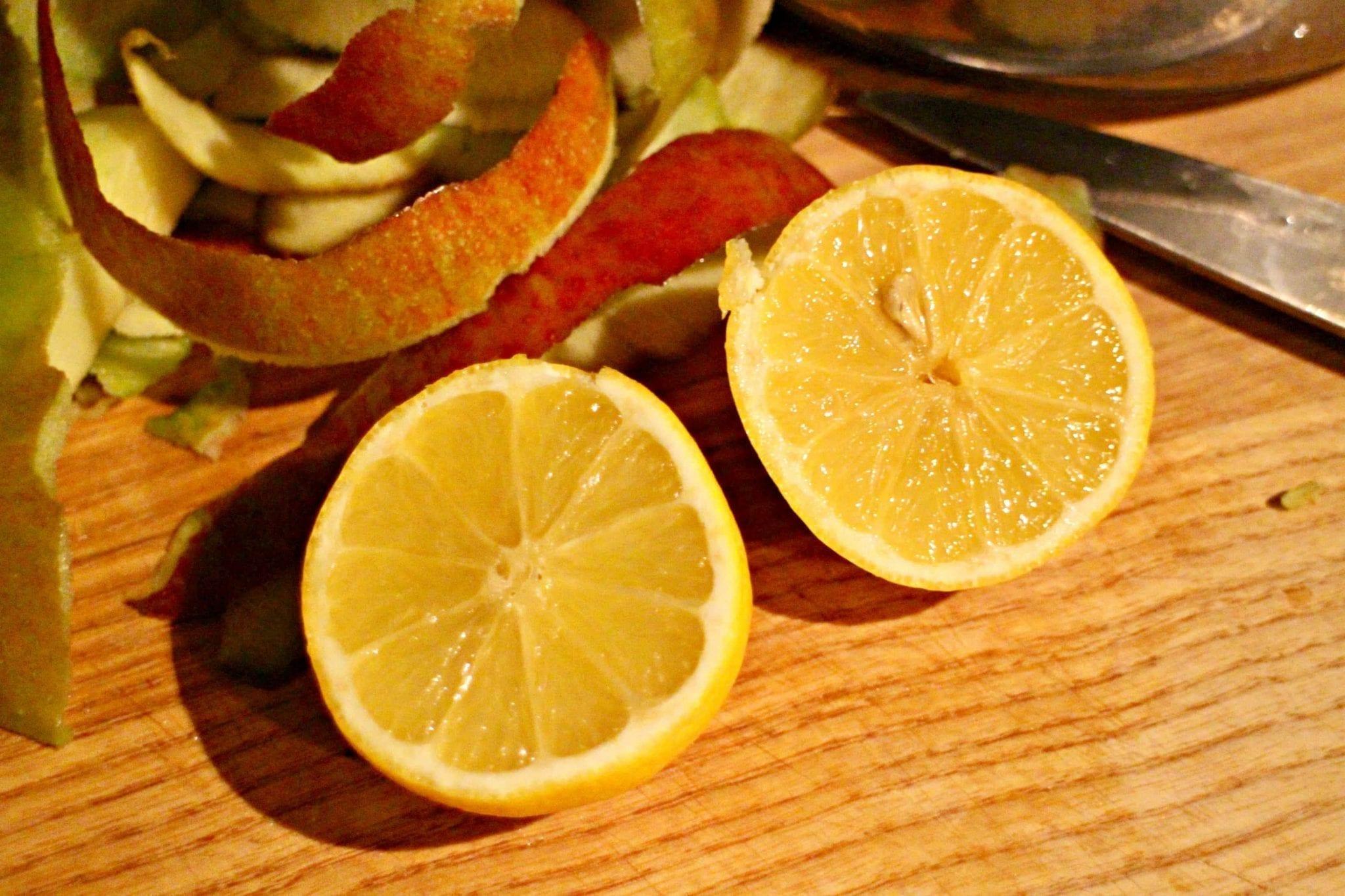 lemons in baking