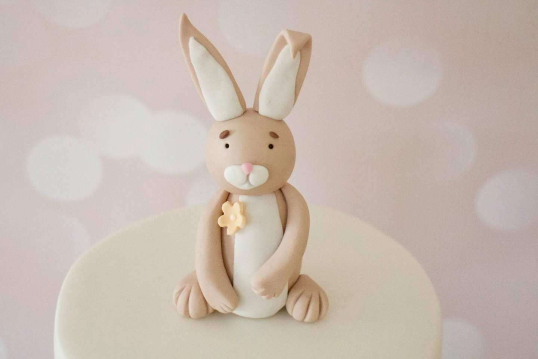 How to make a fondant bunny