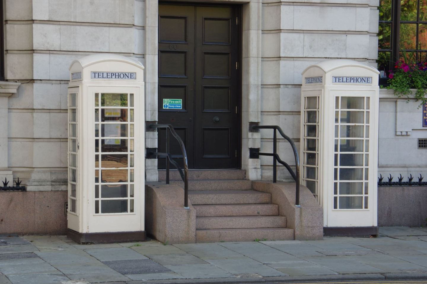 White phoneboxes in Hull