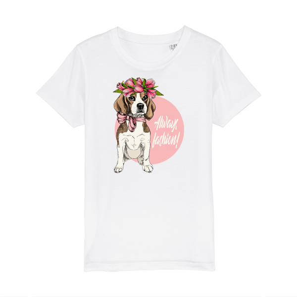 tricou-personalizat-alb-copii-always-fashion