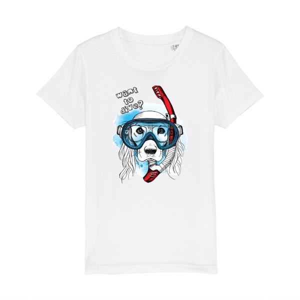 tricou-alb-copii-inotator