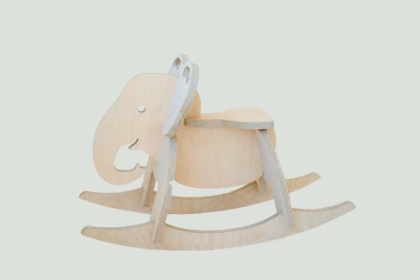 Children's Toy Elephant Rocker