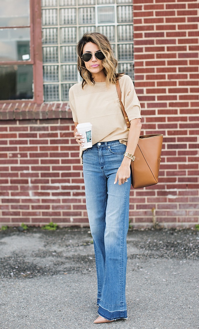Flare Leg Pants Are on the Rise