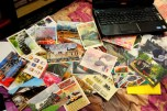One of theme that I collect is train postcard. And I have got so many of them in these 4 months.