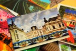 My favorite train postcard from Czech Republic; the one that sent me this is a cool woman that works as a tram driver. She's so kind :)