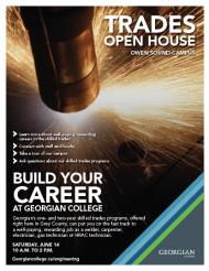 Owen Sound Trades Open House promotion