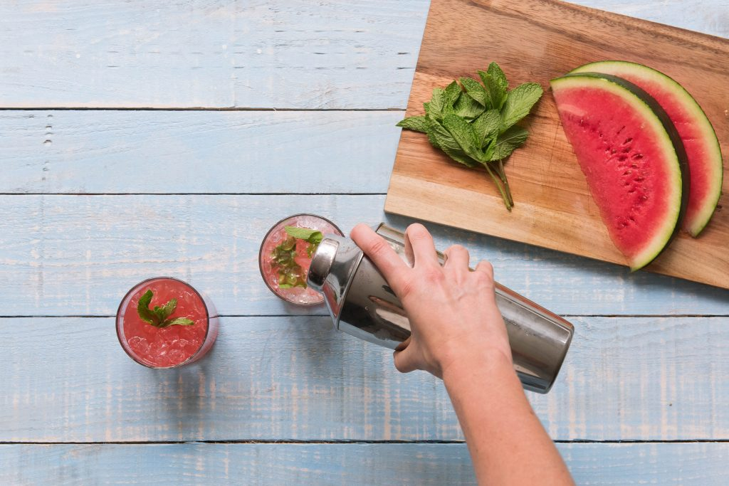 watermelon-mint julep-HelloFresh