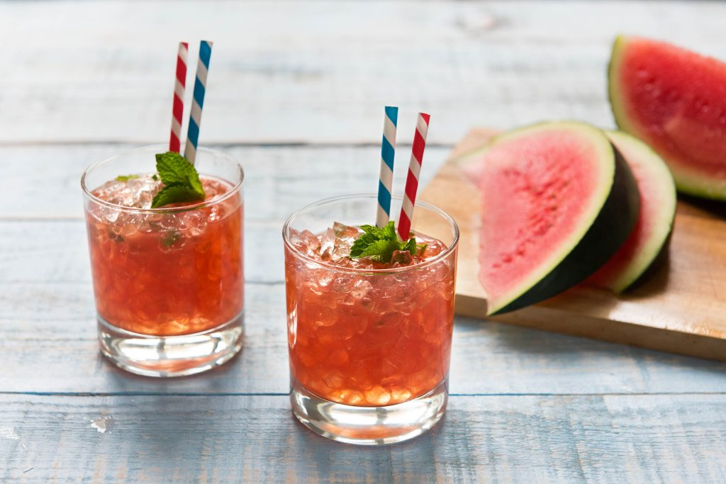 watermelon-mint juleps-HelloFresh
