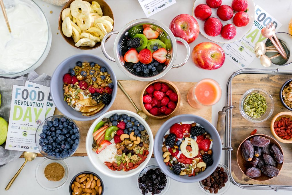 physical activity-food-breakfast-HelloFresh-Jamie Oliver
