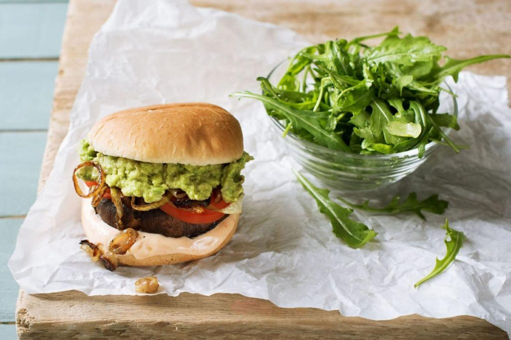 best burgers-veggie-portobello-HelloFresh